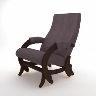Relaxsessel mit Schaukelfunktion Gliding Walnuss Braun