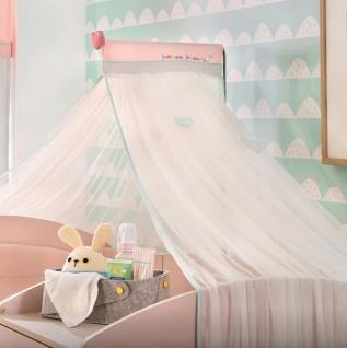 Cilek Baby Girl Betthimmel in Weiß Rosa