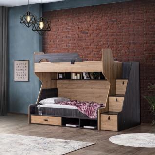 Odacix Hochbett Aktif mit zwei Schlafplätzen