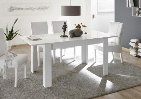 Esstisch Weiß ausziehbar Orim 137x90