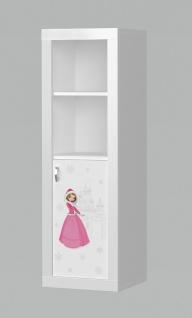 Motiv Kinder Bücherregal Phil Snow Princess