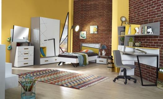 Design Jugendzimmer komplett Vector 8-teilig