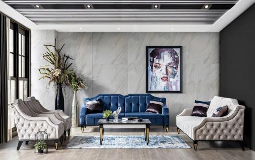 Weltew Wohnzimmer Sofa Set Kanyon 5-teilig