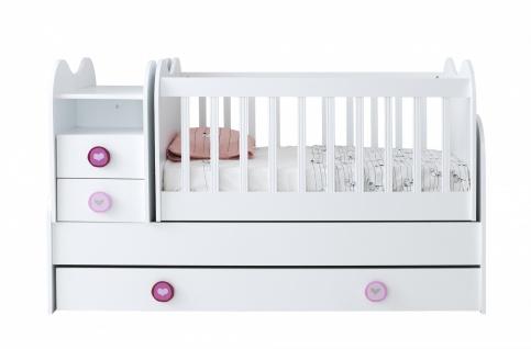 Babybett mit Kommode mitwachsend Point Young - Vorschau 1
