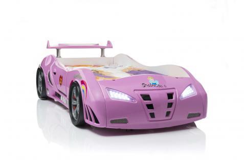 Autobett Princess in Pink Mädchenbett