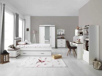 Jugendzimmer Set Morpheus mit Bett 120x200