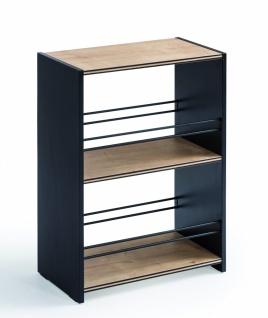 Cilek Black offenes Bücherregal mit zwei Fächern