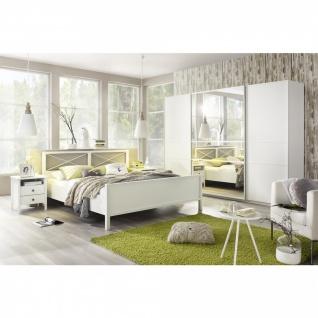 Komplett-Schlafzimmer MARIT I (4-teilig) 140er Bett / 270er Schrank