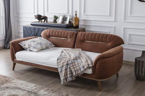 Sofa Set Beta mit Schlafsofa und Sessel - Vorschau 2