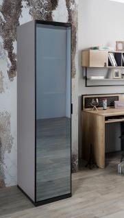 Titi Kleiderschrank Corner mit verspiegelter Türe 1-türig