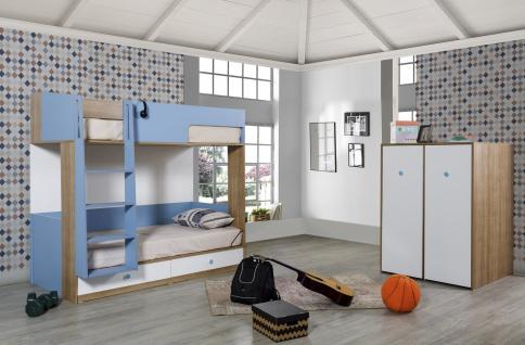 Kinderzimmer komplett Sarad 2-teilig modern