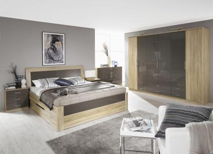 Komplett-Schlafzimmer ARONA (4-teilig) Bett Breite 140 cm