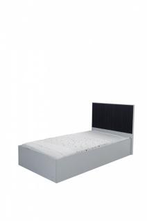 Jugend Bett Dynamic in 120x200 Grau