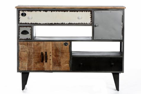 metall sideboard g nstig sicher kaufen bei yatego. Black Bedroom Furniture Sets. Home Design Ideas