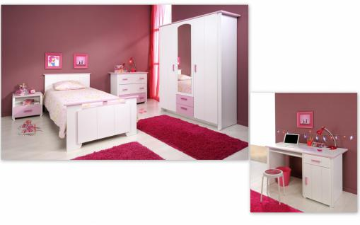 Kinderzimmer Set Sweetie mit 3-türigem Schrank