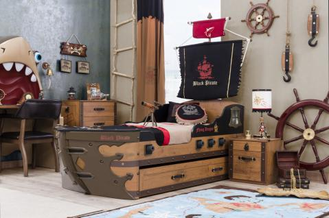 Cilek Kinderzimmer Black Pirate 4 Teilig