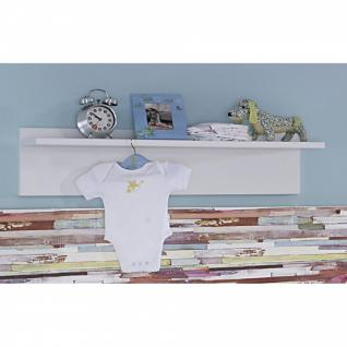 Babyzimmer MANJA 5-teilig Hochglanz weiß / alpinweiß - Vorschau 3