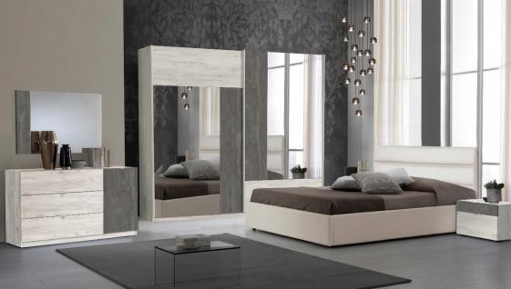 Komplettes Schlafzimmer Urban 180x200 Holz Optik
