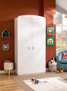 Cilek Baby Cotton LED Kleiderschrank mit 2 Türen
