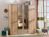 Cilek Mocha Spiegel Kleiderschrank mit 4 Türen