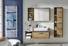 Badezimmer Set Roney 3-teilig in Eiche Riviera