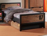 Jugendbett Nils 90x200 in Kiefer massiv