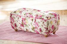 Cilek Flora Summer Ottomane mit Stauraum in Pink