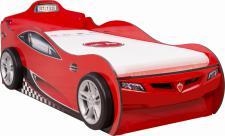 Cilek Coupe Autobett in Rot mit Gästebett