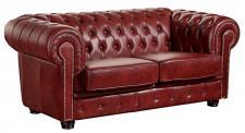 Sofa 2-Sitz Norwin Wischleder verschiedene Farben