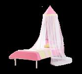 Cilek Princess Love Betthimmel 330x60 mit Pompons