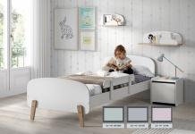 Kid Kinderbett 90x200 Mint-Grün