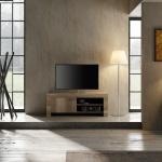 Design TV Schrank in Canyon Oak Grace 1-türig
