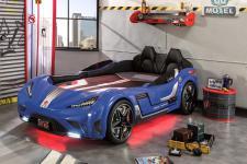 Cilek GTS Autobett Blau mit Sportsitzen