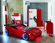 Racer Speed Shark Autobett Zimmer 5-teilig