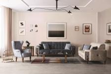 Exklusives Couch Set Varun in 3-teiligem Set