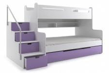 Dreier Etagenbett : Etagenbett max mit schubkastentreppe kaufen bei möbel lux