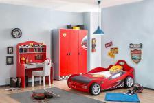 Cilek Racecup Autobettzimmer 3-teilig in Rot