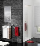 Waschtisch Set in zwei Farben Verena 3-teilig