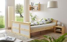 Schlafzimmer Bett Landhaus Stil Merinda Kiefer massiv