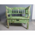 Sitzbank 02 mit 2 Schubladen verschiedene Farben 80 x 80 x 44 cm