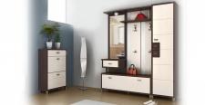 Garderobe Domino 3-teilig in Birke oder Eiche Sonoma