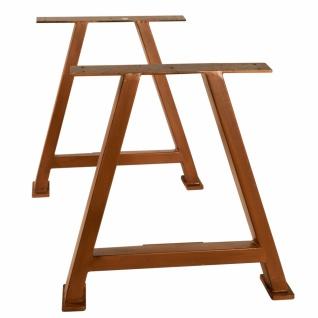 Tischgestell Cibus A-Form aus Eisen