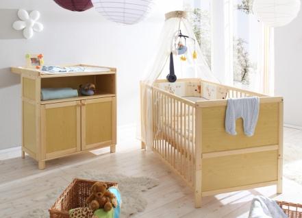 Babyzimmer 2-teilig Alisa mit Bettwäsche Set