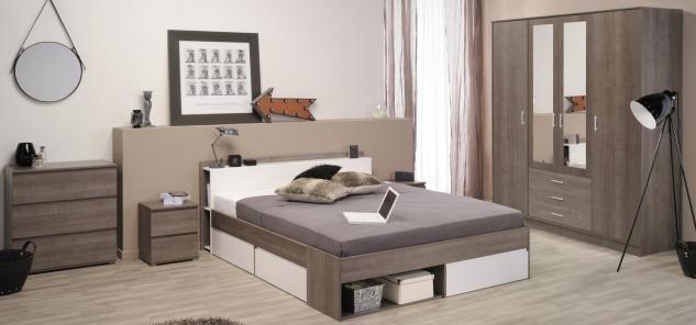 Schlafzimmer komplett Janneck 5-teilig
