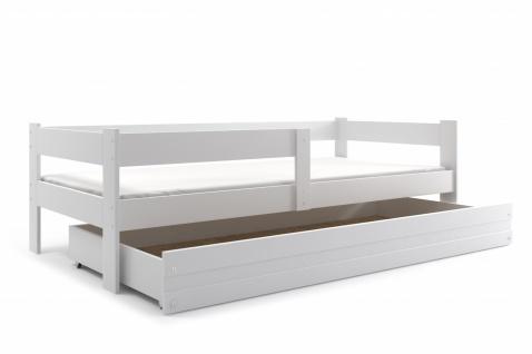 Kinderbett mit bettkasten  Kinderbett Weiss Inkl online bestellen bei Yatego