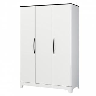Kleiderschrank Verala mit 3 oder 4 Türen in Weiß