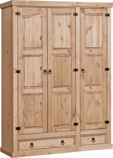 Dustin Kleiderschrank mit 3 Türen und 2 Schubladen