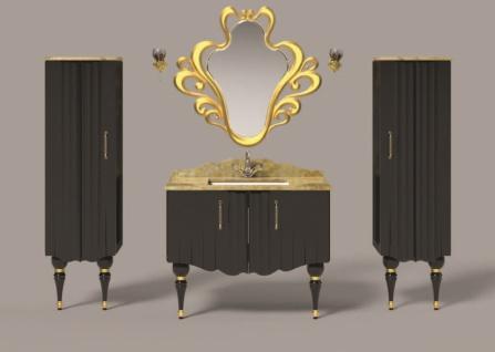 Pierre Cardin Badezimmer Prado in Barock Stil