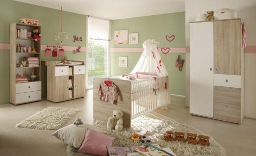 Babyzimmer Set Lilli 4-teilig Sonoma Weiß