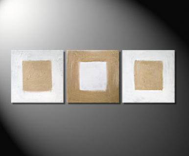 "Fiona Ritz ""GOLDEN SQUARE"" Moderne Kunst, abstrakt"